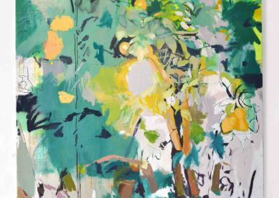 SER TIERRA, SER POLVO, SER SOMBRA, NADA<br/>Oil on canvas<br/> 114 x 162 cm